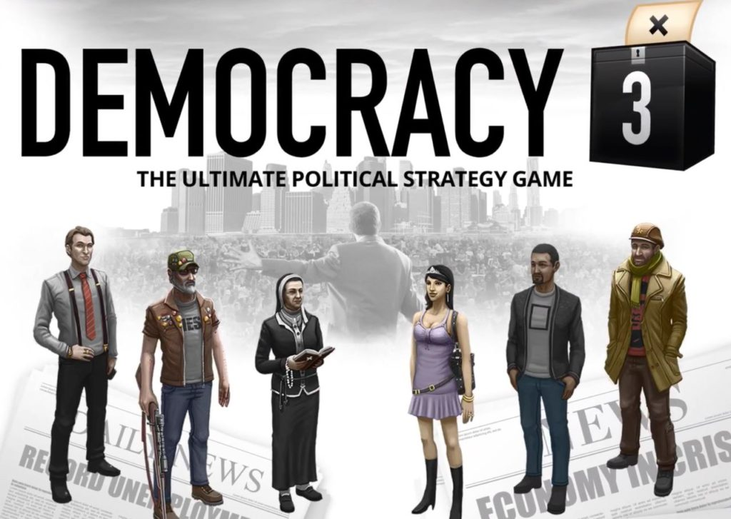 Political And Policy Simulator Democracy 3