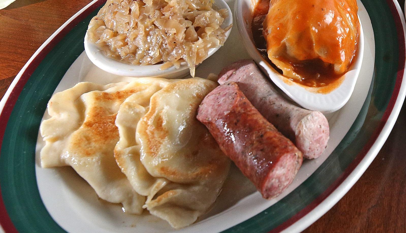 049 Anntonette Alberti, Jim Kelly and Barbara Chepaitis  | Polish Food