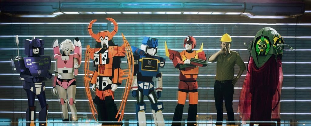 Heavy Metal Robots Rock The Universe In Transformers Tribute Band