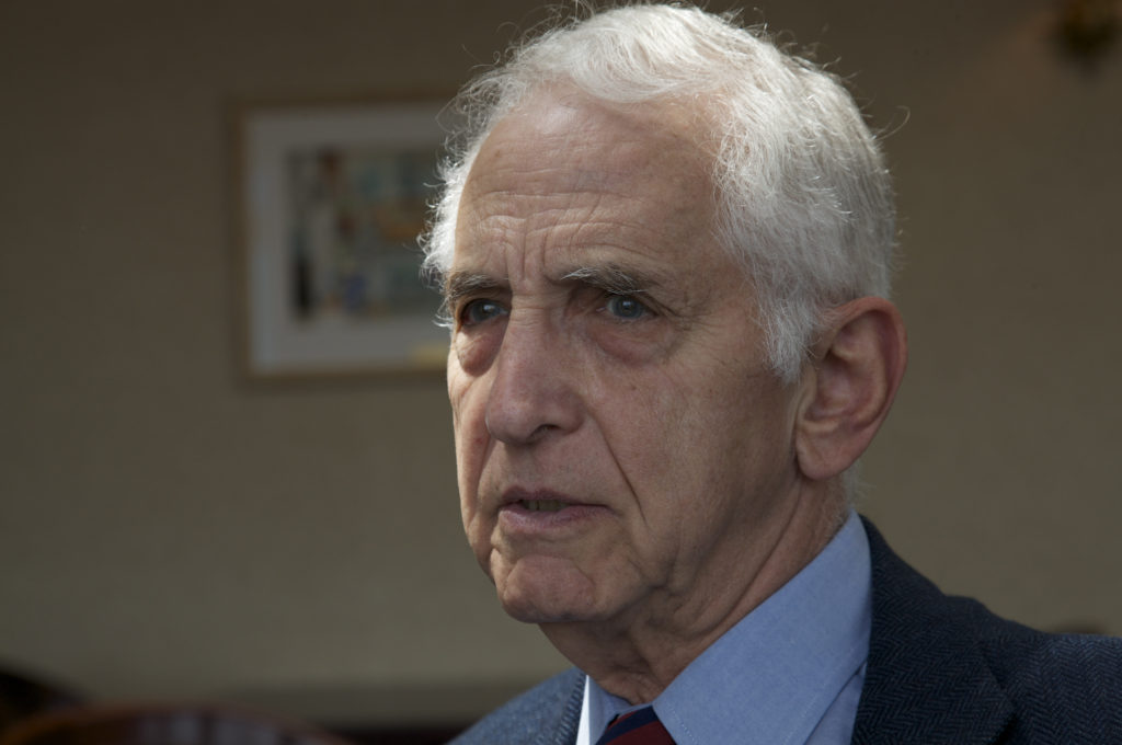 Activist, Lecturer, Author, and Former U.S. Military Analyst Daniel Ellsberg