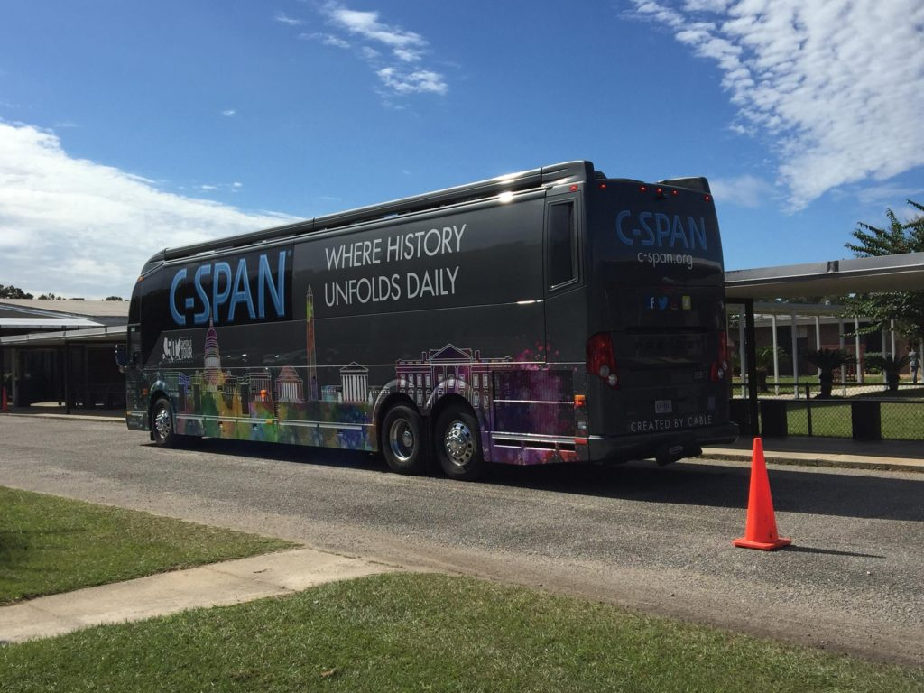 "#1417: ""The C-SPAN Bus"