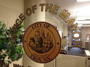 The troy mayor's office