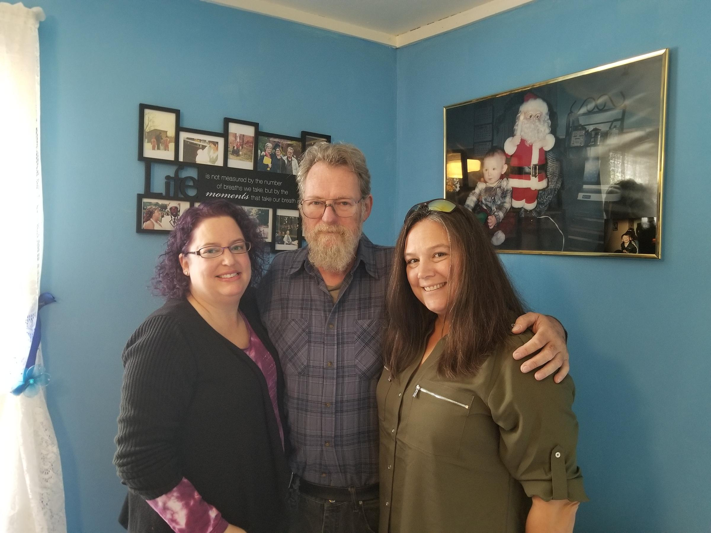 Alisa Costa, Don Hill, and Christine Isca