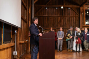 Ken Burns at Hampshire College