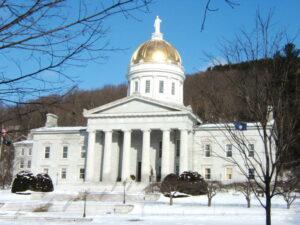 Vermont's statehouse