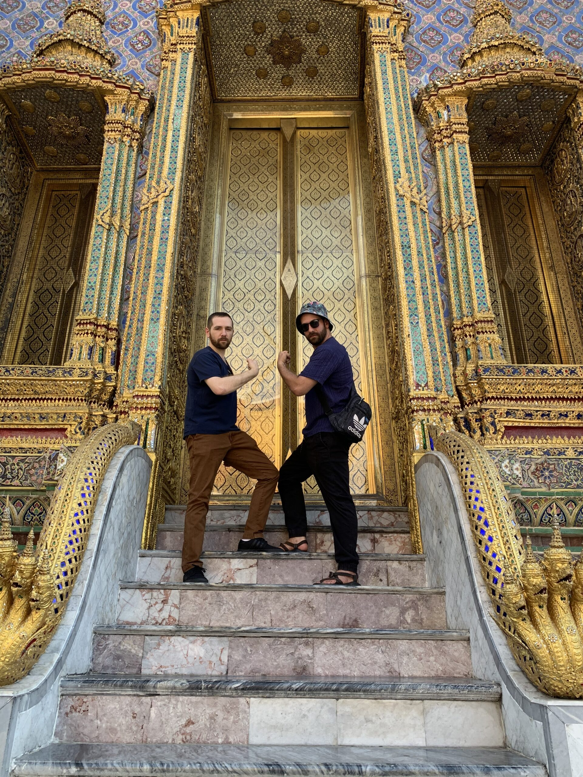 Ian Pickus and Neil Pickus in Bangkok in early 2020.