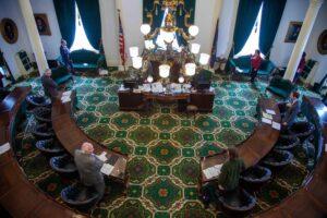 The Vermont Senate reconvenes to consider coronavirus measures.