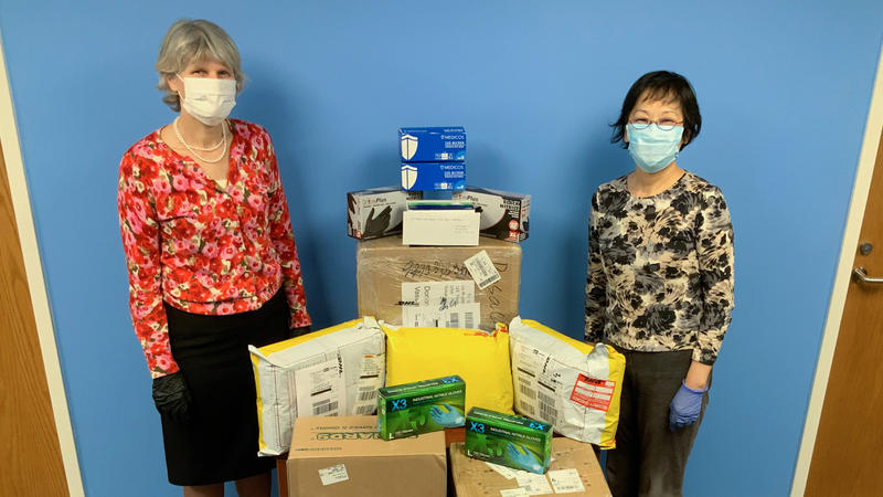 #1606: A U.S. College Professor Works With Families In China On PPE Donations | 51%