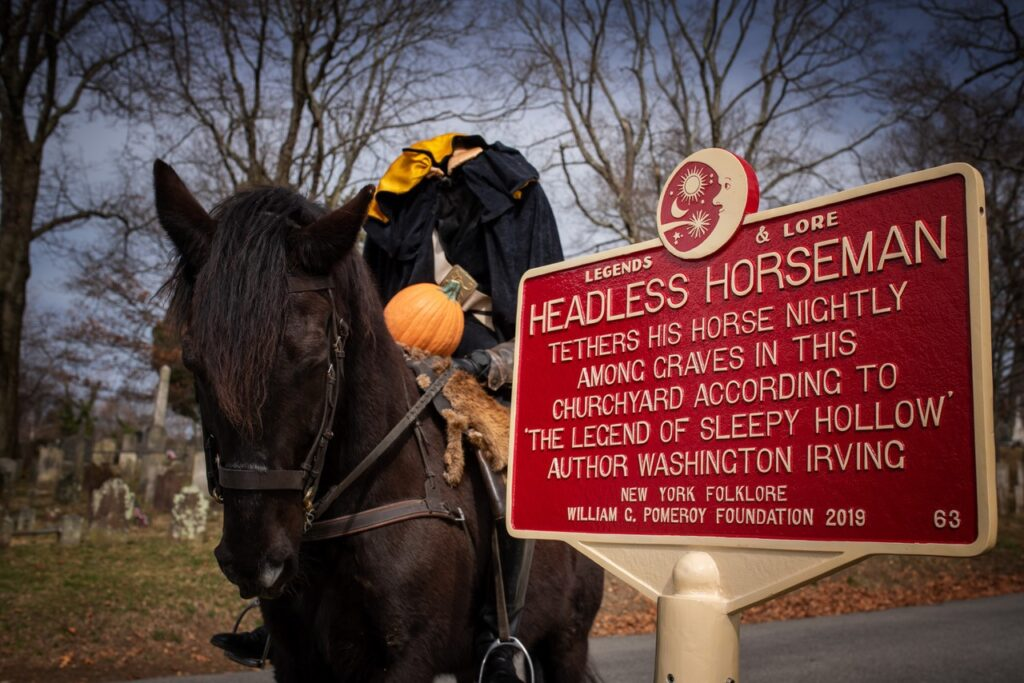 The Inspirations Behind The Headless Horseman And Ichabod Crane   A New York Minute In History