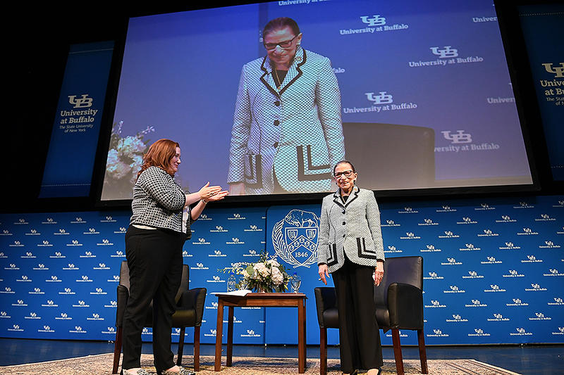 #1628: An Archival Conversation With Ruth Bader Ginsburg | 51%