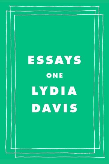 "#1688: Lydia Davis ""Essays One"" | The Book Show"