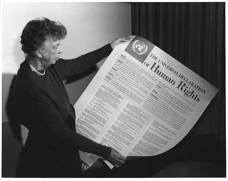 Eleanor Roosevelt – Declaration Of Human Rights Speech | The Power Of Words