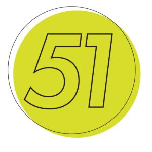 51 Percent Logo