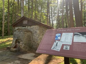 Orenda Spring at Saratoga Spa State Park